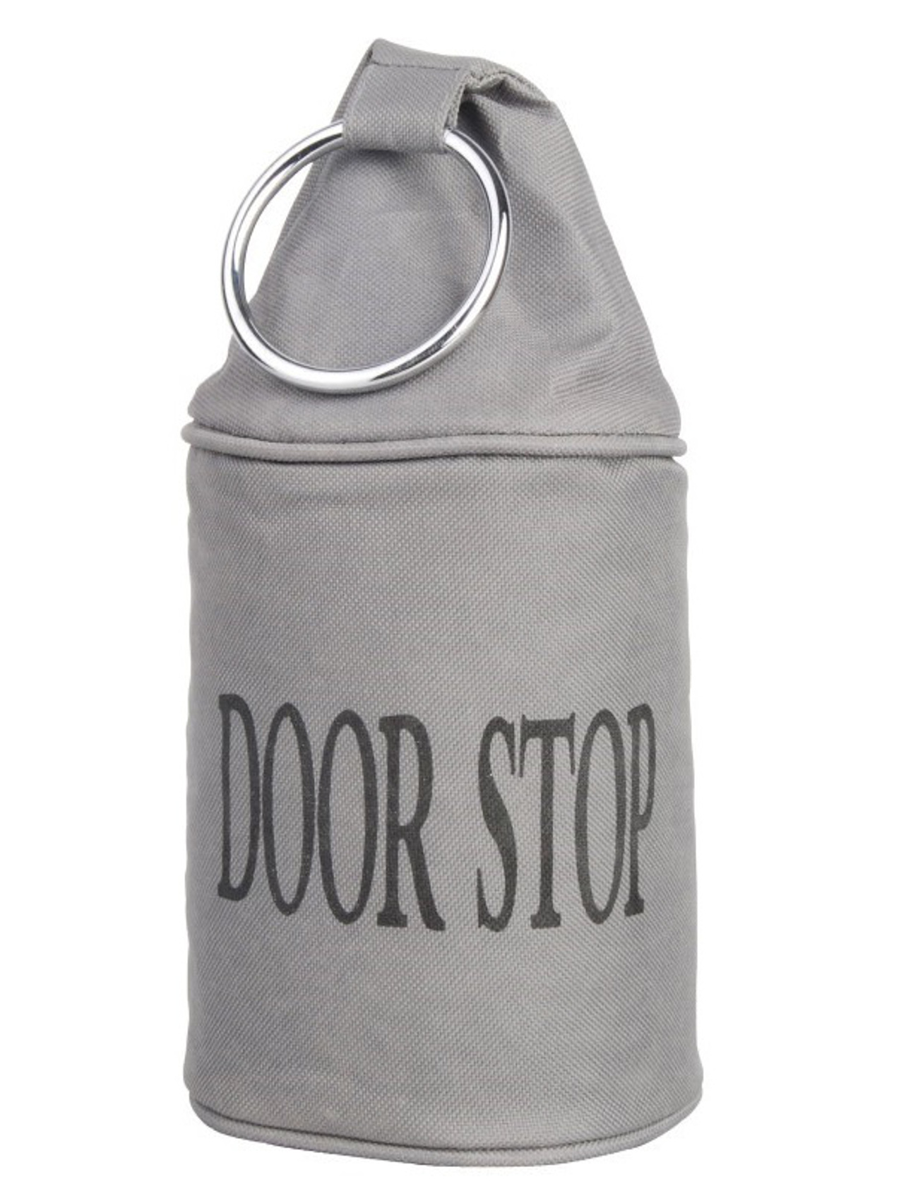 Fabric Door Stopper Fabric Doorstop Metal Ring Heavy Duty Polyester Door Stop