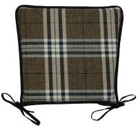 Kitchen Seat Pad 100% Polyester Tartan Check Garden Dining ...