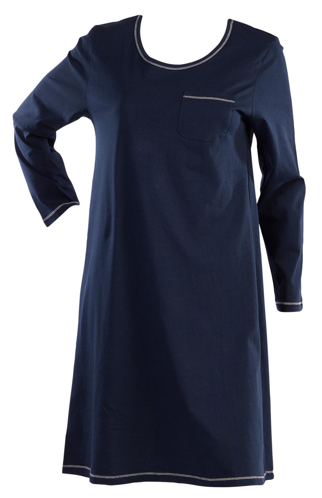 Black t shirt nightdress - Black T Shirt Nightie Ladies Slenderella 100 Cotton Jersey Nightdress Plain Long Download