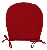 Chair Seat Pads Plain Round Kitchen Garden Furniture ...