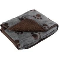 Pet Face Sherpa Fleece Dog Blanket Comforter Warm Faux Fur ...