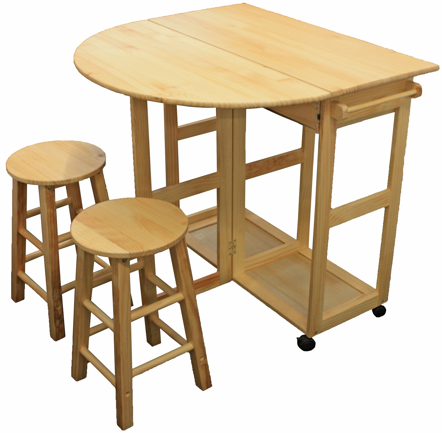 Bar Stools And Table Set Maribelle Folding Table And Stool Set Kitchen Breakfast