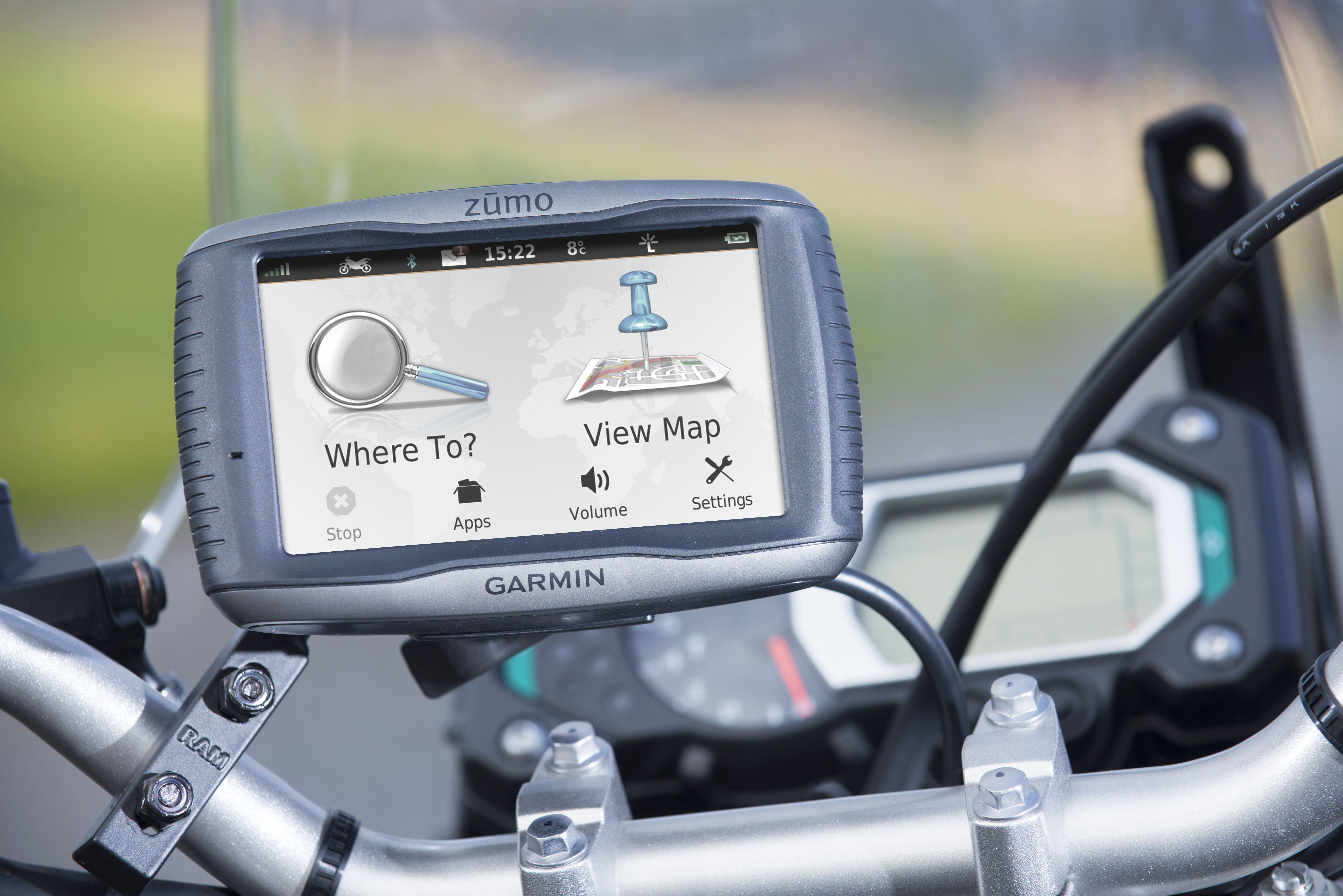 Best Free Sat Nav For Iphone Garmin Zumo 595lm Motorcycle Gps Satnav Free Uk Europe