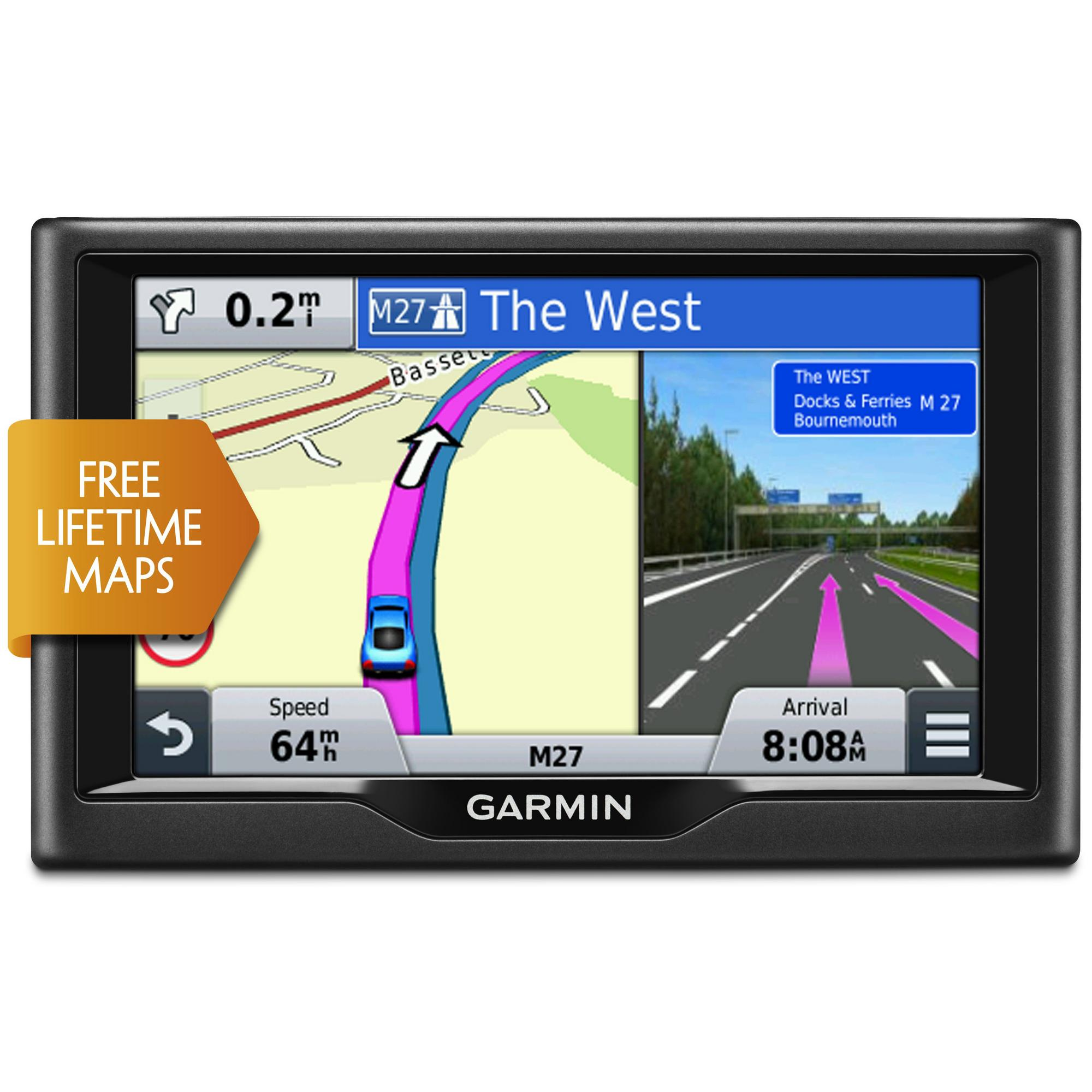 Best Free Sat Nav For Iphone Garmin Nuvi 57lm Gps Satnav Uk And Ireland Free Lifetime Map