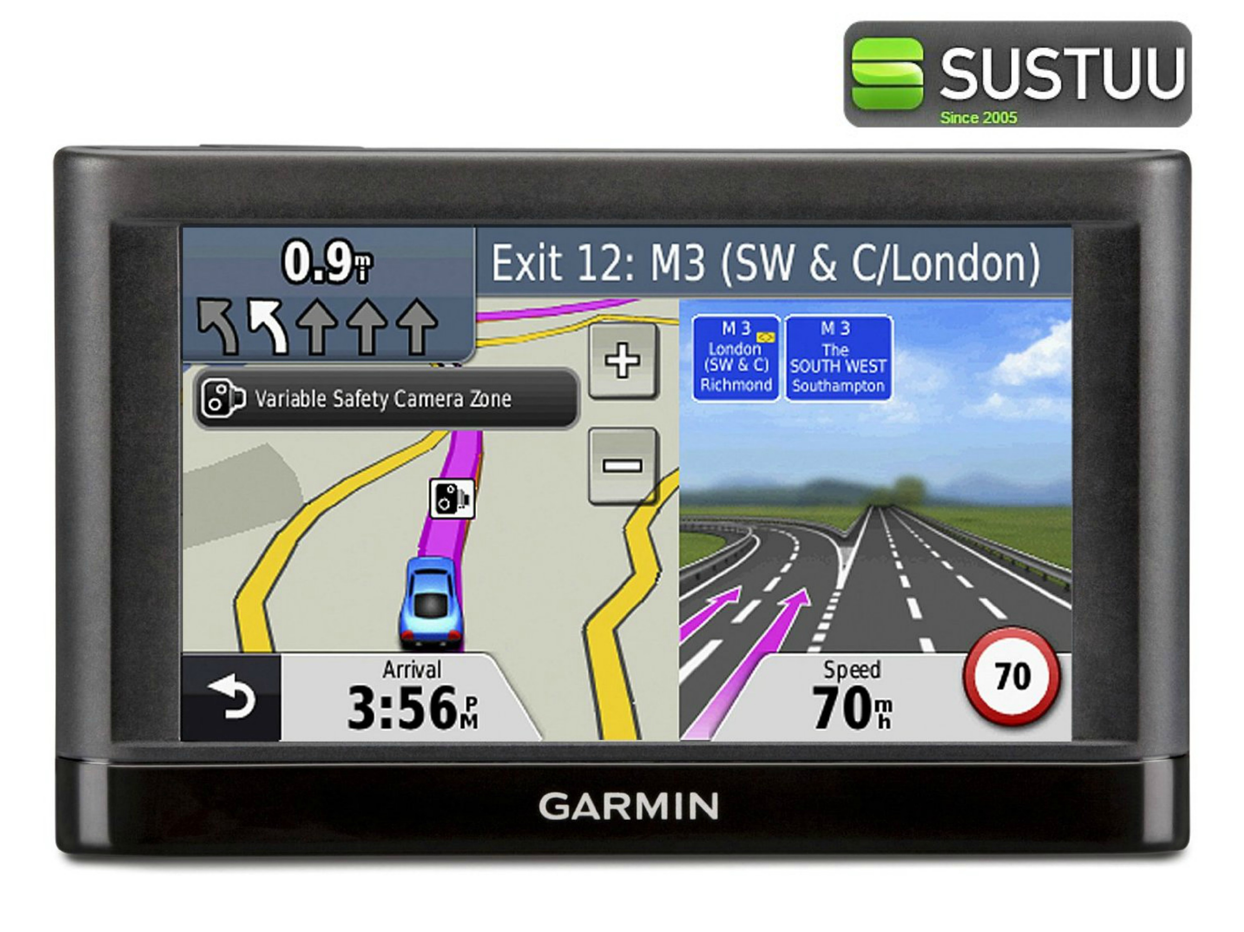 Best Free Sat Nav For Iphone New Garmin Nuvi 42lm Gps Satnav Free Lifetime Uk And Western