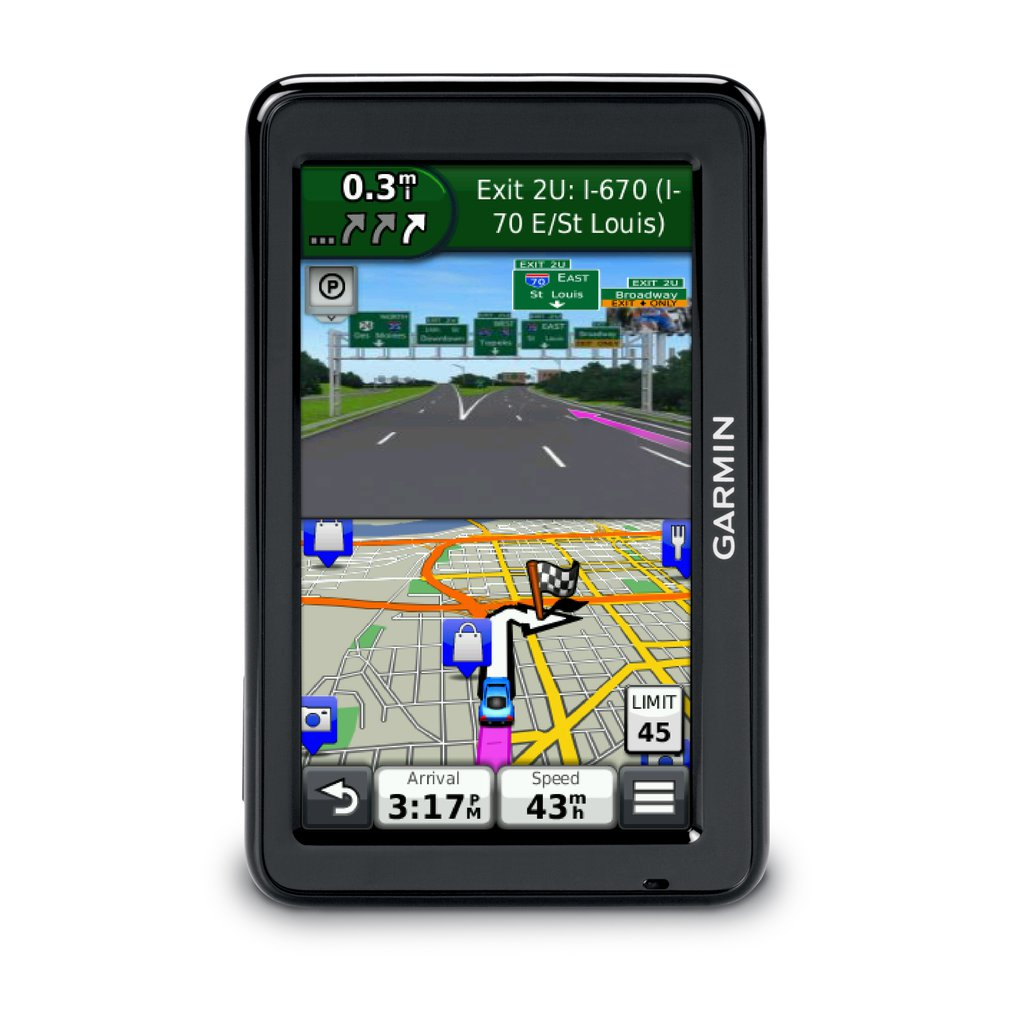Best Free Sat Nav For Iphone Garmin Nuvi 2455lm 4 3 Quot Display With Free Lifetimeeurope