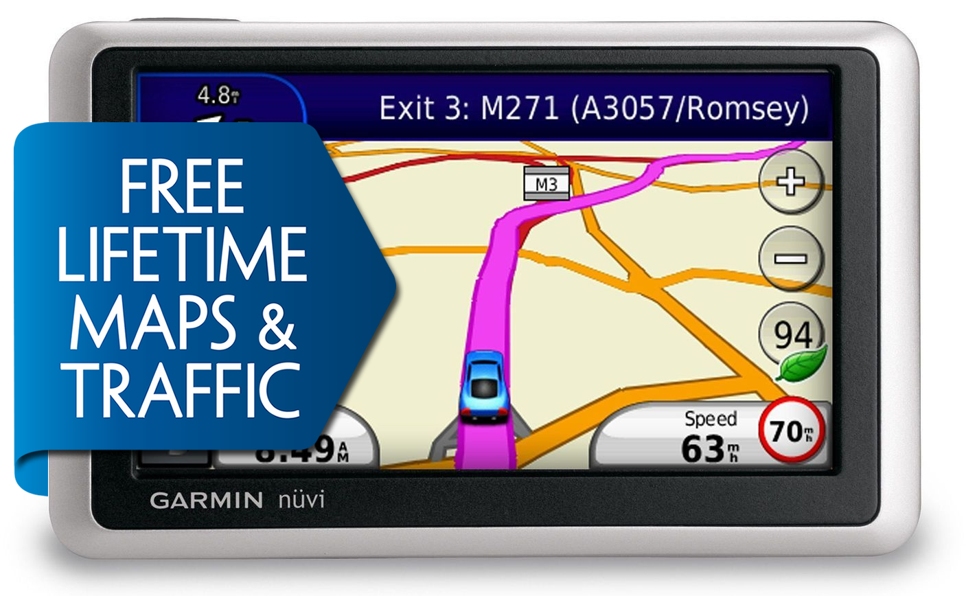 Best Free Sat Nav For Iphone Garmin Nuvi 1340lmt Gps Satnav 43 Free Lifetime Europe Map
