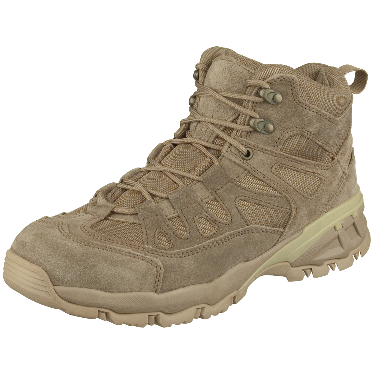 Brandit Outdoor Trail Mid Cut Boots Camel Boots