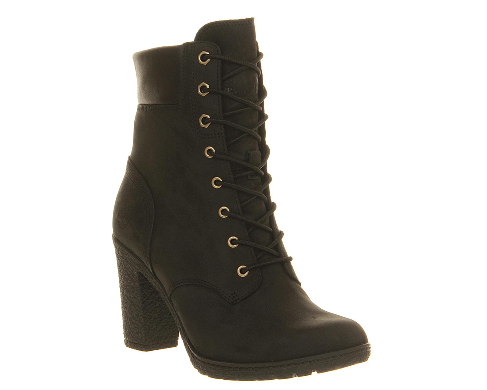 Book Of Black Timberland High Heel Boots Women In