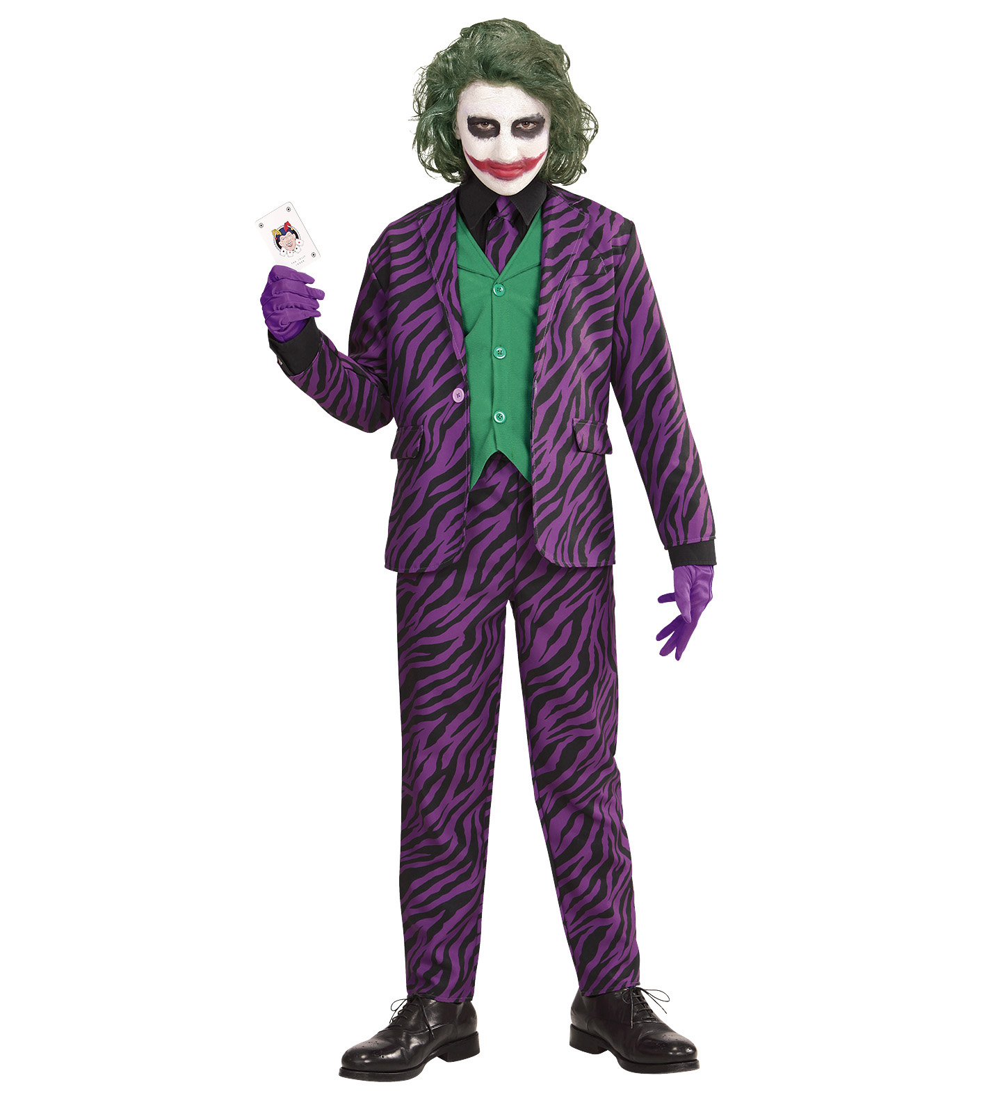 Halloween Kostüme Kinder Toys R Us Details About Boys Kids Childs Evil Joker Halloween Fancy Dress Costume Outfit 4 5 Yrs
