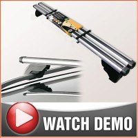Merc Vito Van Roof Rails Aero Bars Rack 96 On Easy Fit | eBay