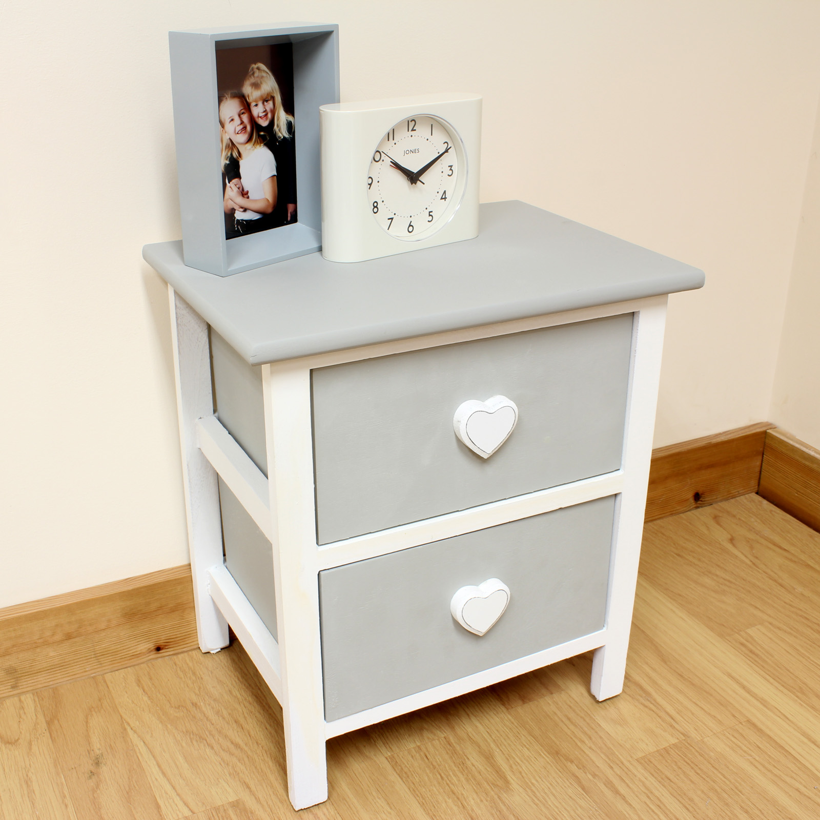 Toddler Bedside Table Rustic Bedside Girls Childrens Kids Table With Drawers