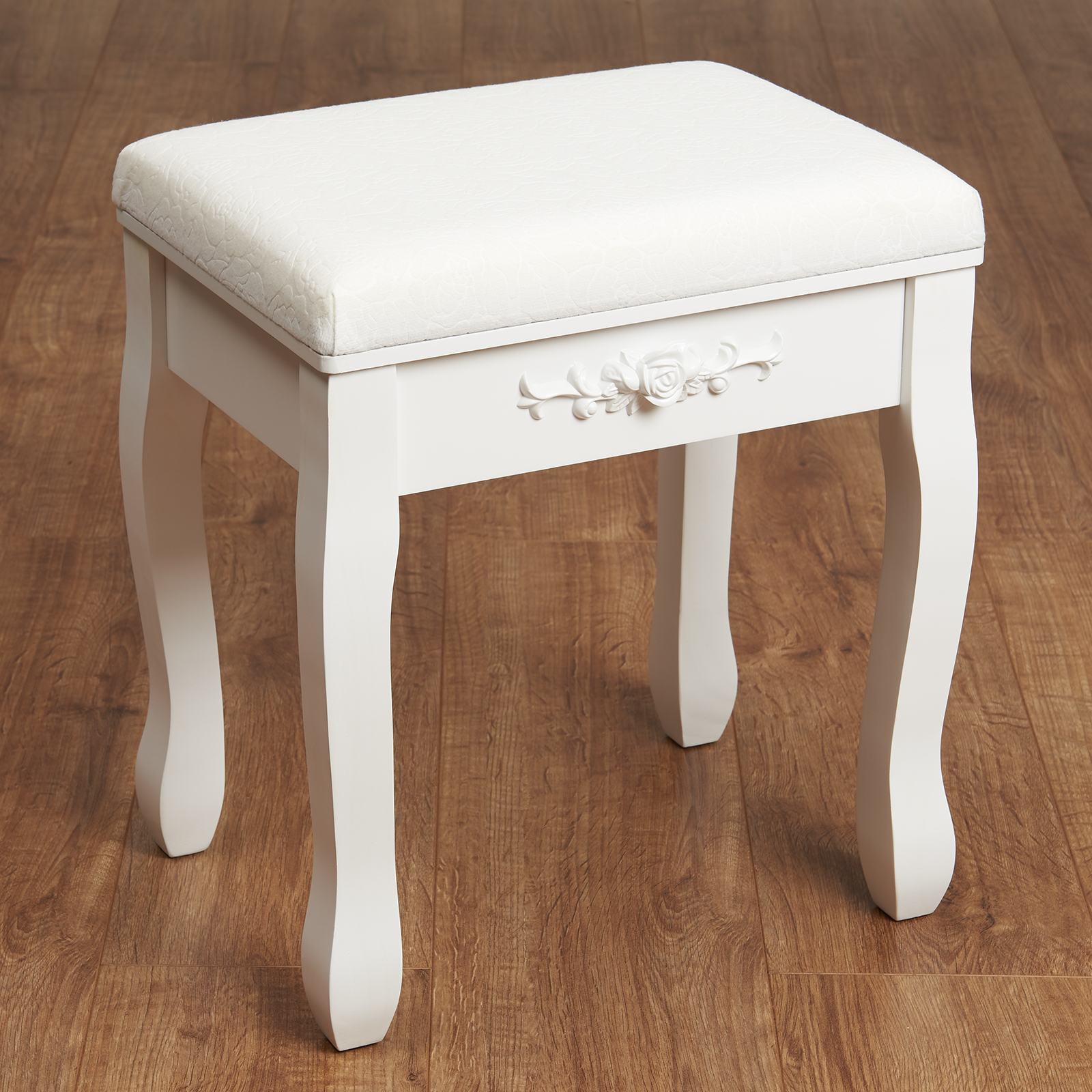 Soft Chairs For Bedrooms Hartleys White Dressing Table Stool Soft Padded Chair