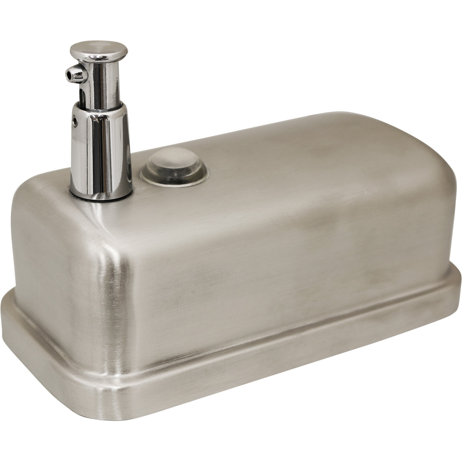 Metal Soap Dispenser Pump Stainless Steel Soap Shampoo Dispenser Pump Action Wall