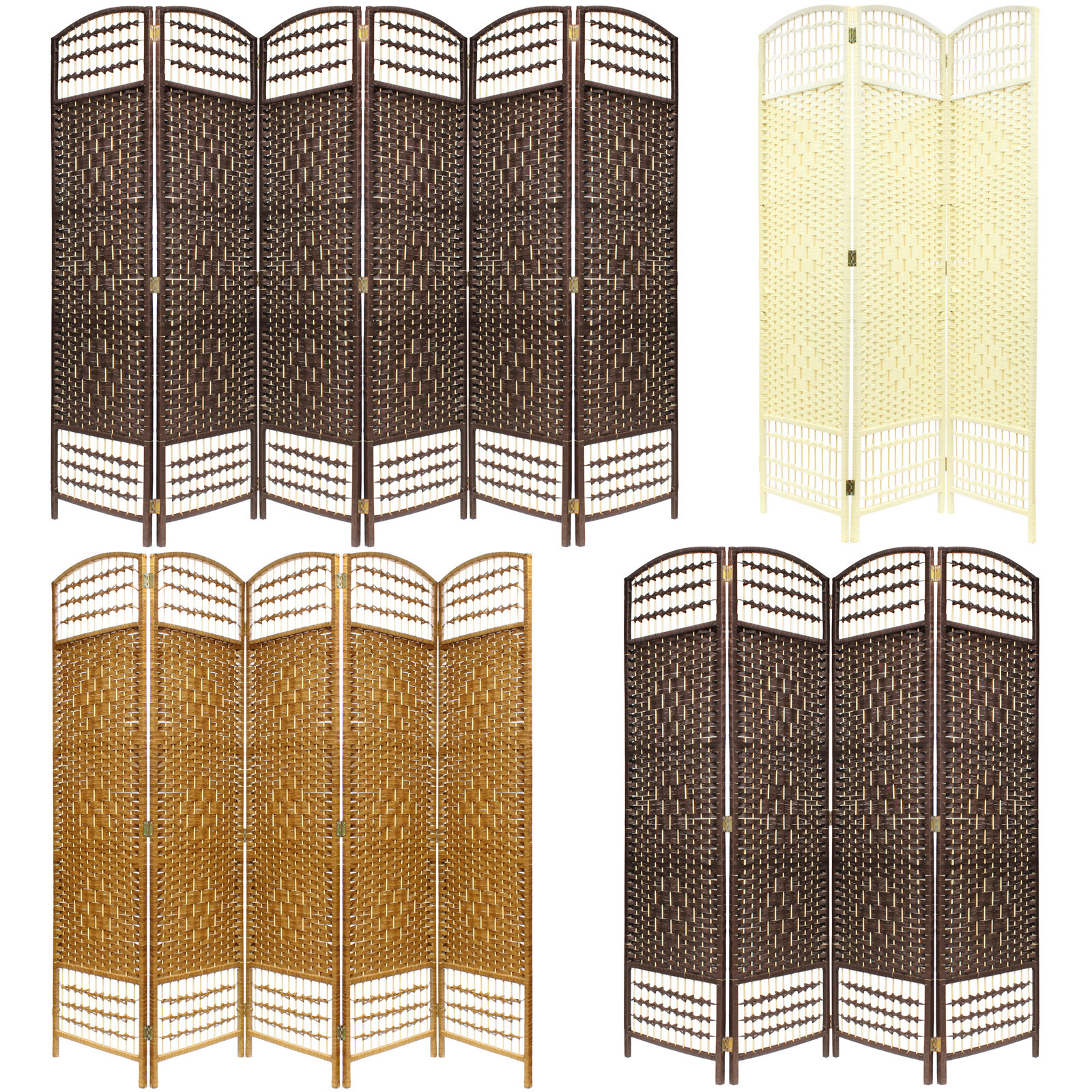 Room Divider Screens Hand Made Wicker Room Divider Separator Privacy Screen