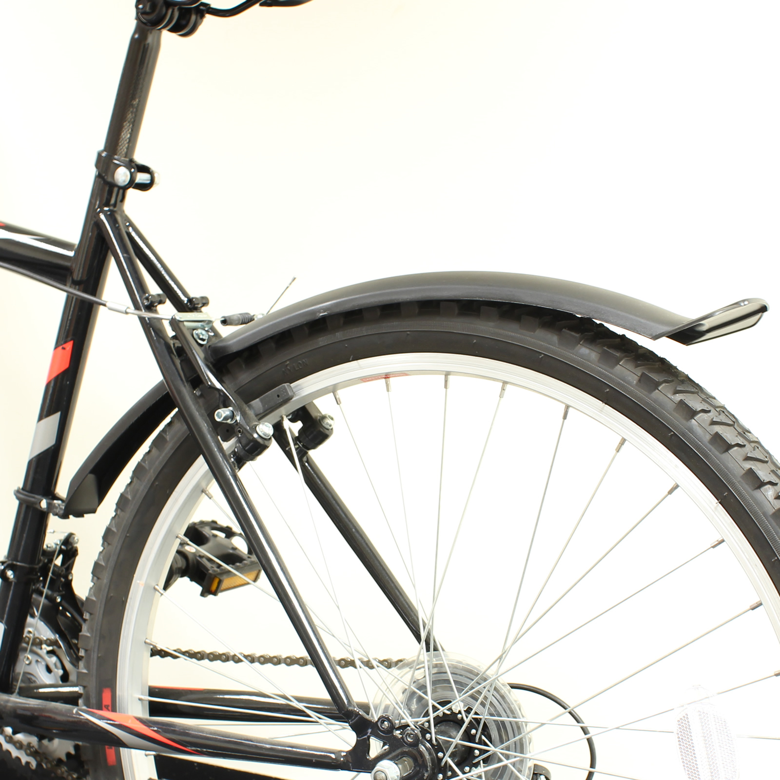 Achterspatbord Mountainbike Pedalpro Cycle 26 Mudguards Front And Rear Mountain Bike