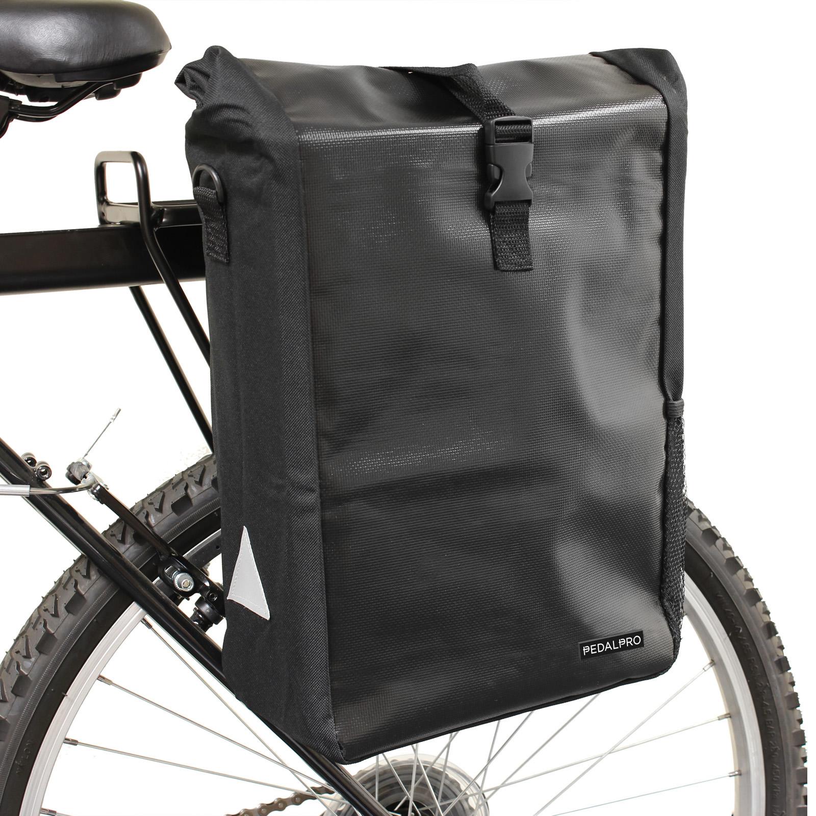 Pedalpro Single Waterproof Cycle Pannier Bag Bike Bicycle