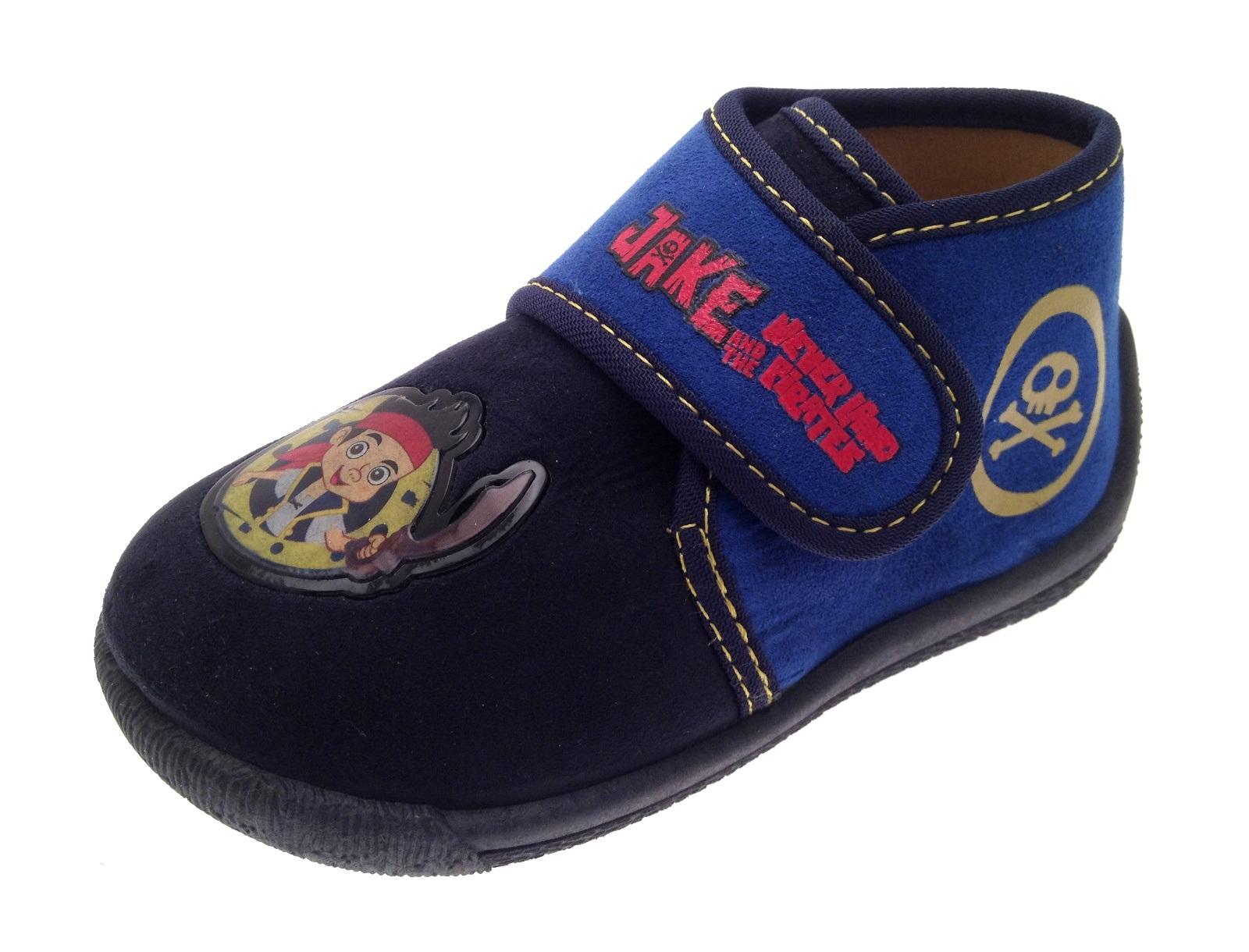 Ninos Chicos Jake Neverland Pirates Zapatillas Botines