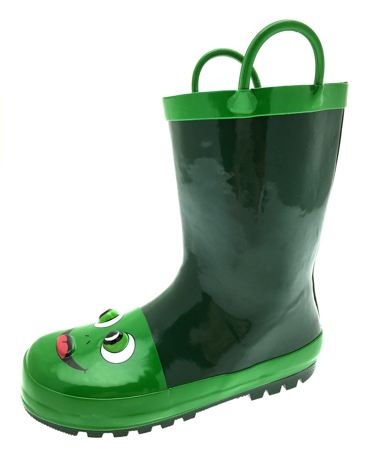Kids Girls Boys 3d Wellington Boots Snow Rain Wellies Pull