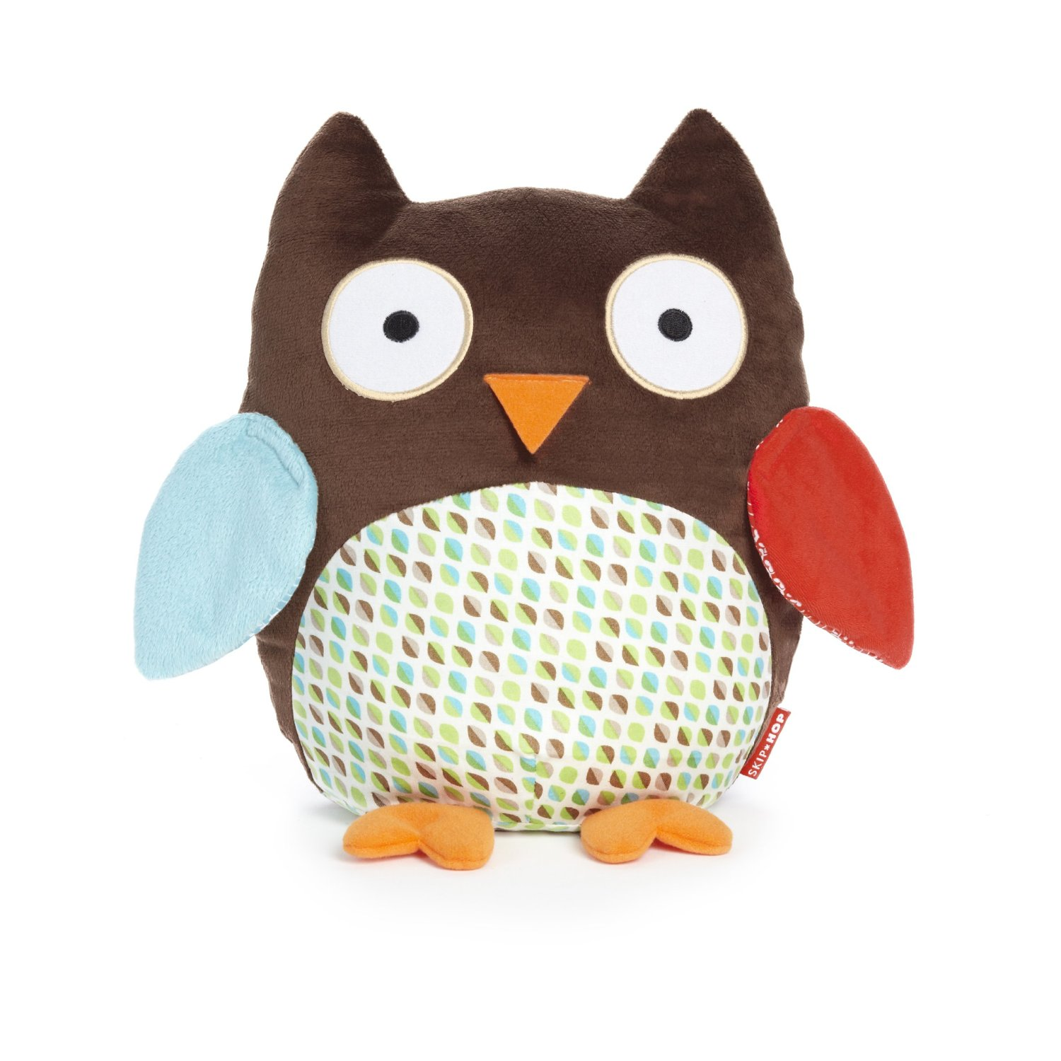 Stuff Owl Owl Toy Set Plush Cuddly Pull Along Wooden Flapping Skip
