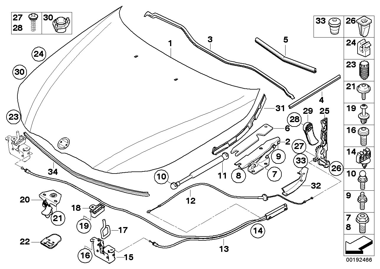bmw 540i engine parts diagram