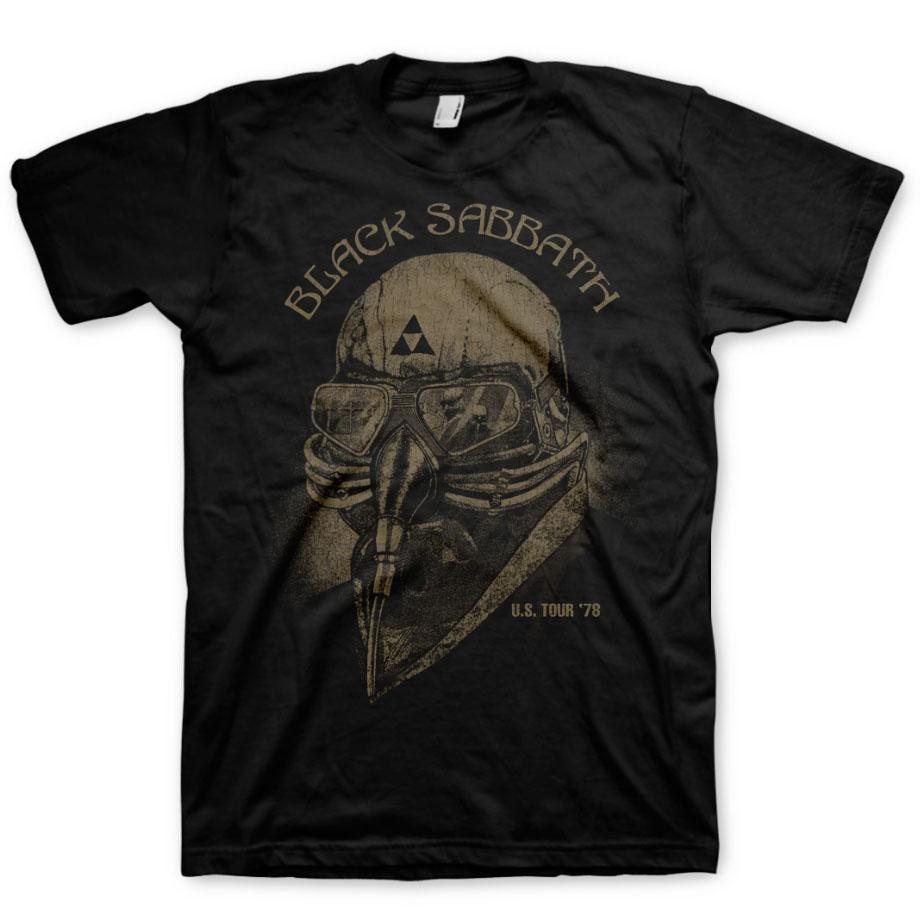 Official t shirt black sabbath avengers iron man