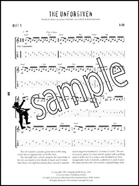 mettalica guitar tab - Towerssconstruction