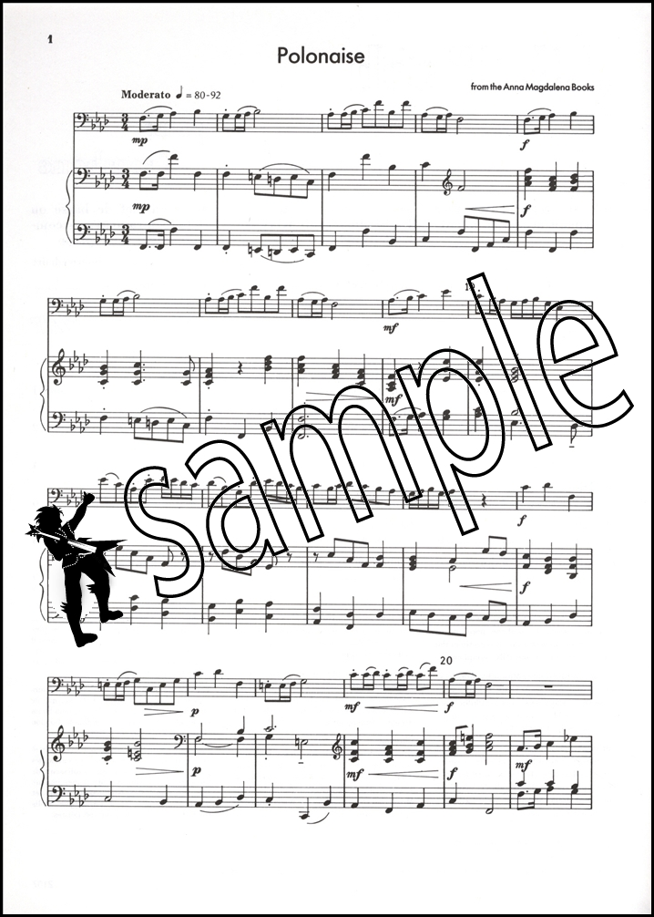 Bach for Trombone Bass Clef Sheet Music Book eBay - clef music
