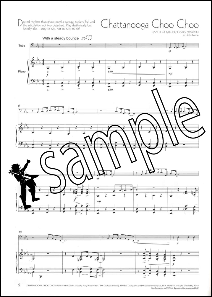 A Little Light Music for Tuba Bass Clef Book Only Hamcor - clef music