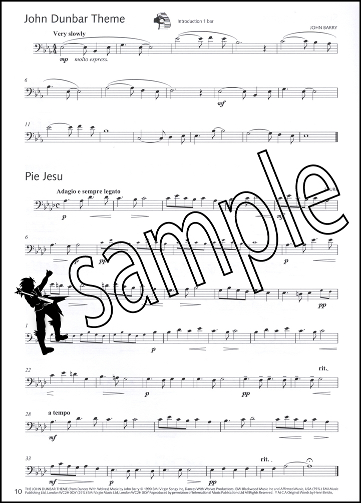 Great Winners for Trombone Bass Clef Sheet Music Book/CD eBay - bass cleft sheet music