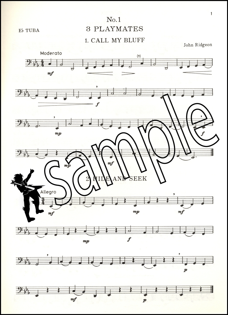 Nine Miniatures for Tuba Bass Clef  Piano Sheet Music Book eBay - bass cleff sheet music