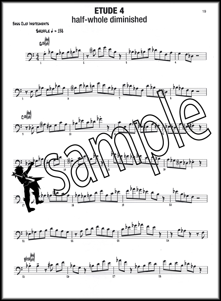 Playing on the Changes Bass Clef Sheet Music Book/DVD ROM Bob - bass cleft sheet music