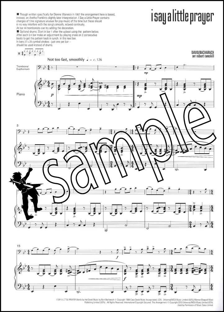 I Feel Good for Trombone/Euphonium Bass Clef Sheet Music Book with - bass cleft sheet music