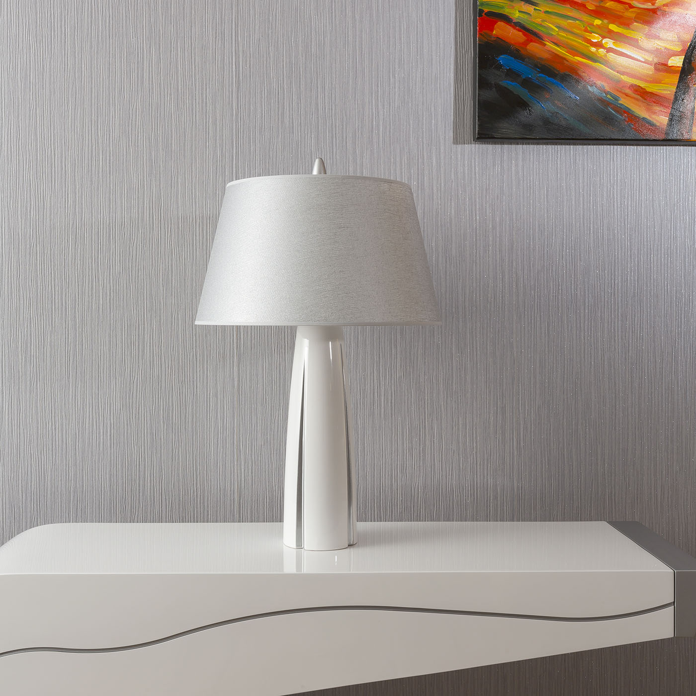 Tall Bedside Lamps Large Envy Lighting Modern Tall Table Bedside Lamp
