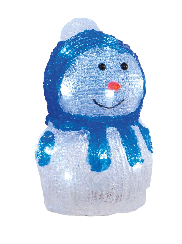 Light Up Acrylic Snowman Christmas Indoor LED Decoration