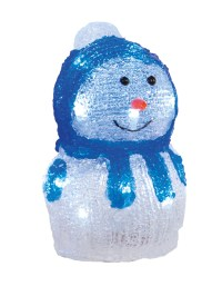 Light Up Acrylic Snowman Christmas Indoor LED Decoration ...