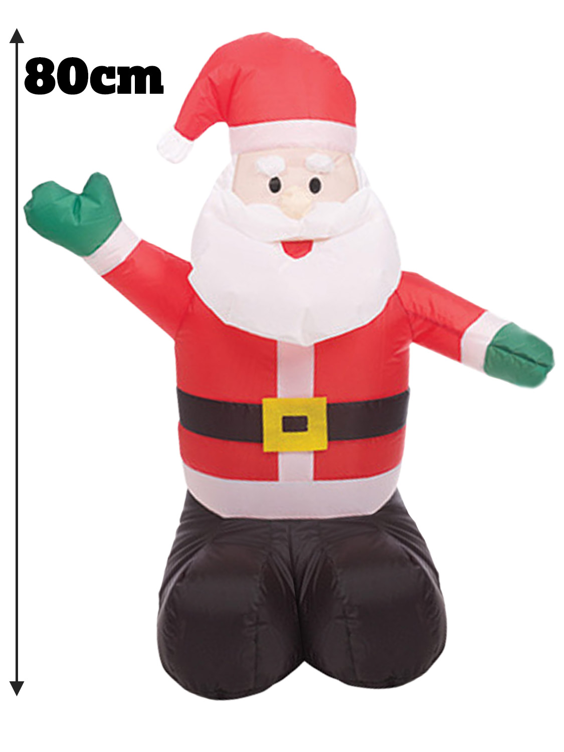 Pere Noel Decoration Interieur Inflatable 80cm Father Christmas Santa Snowman Decorations
