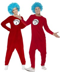Thing 1 or Thing 2 Adults Costume | All Ladies Costumes ...