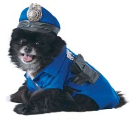 "Police Pet Dog Costume | Letter ""D"" Costumes 