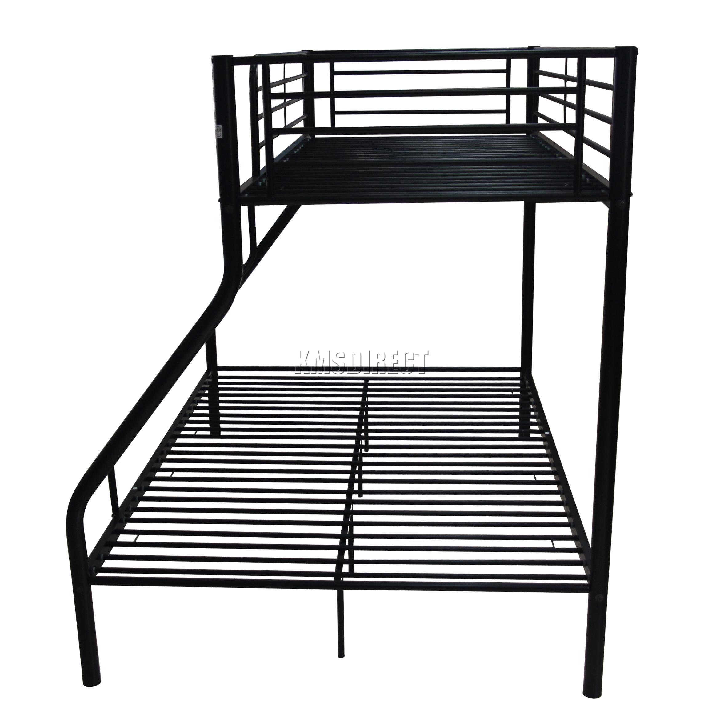 Foxhunter bunk bed single double triple children metal