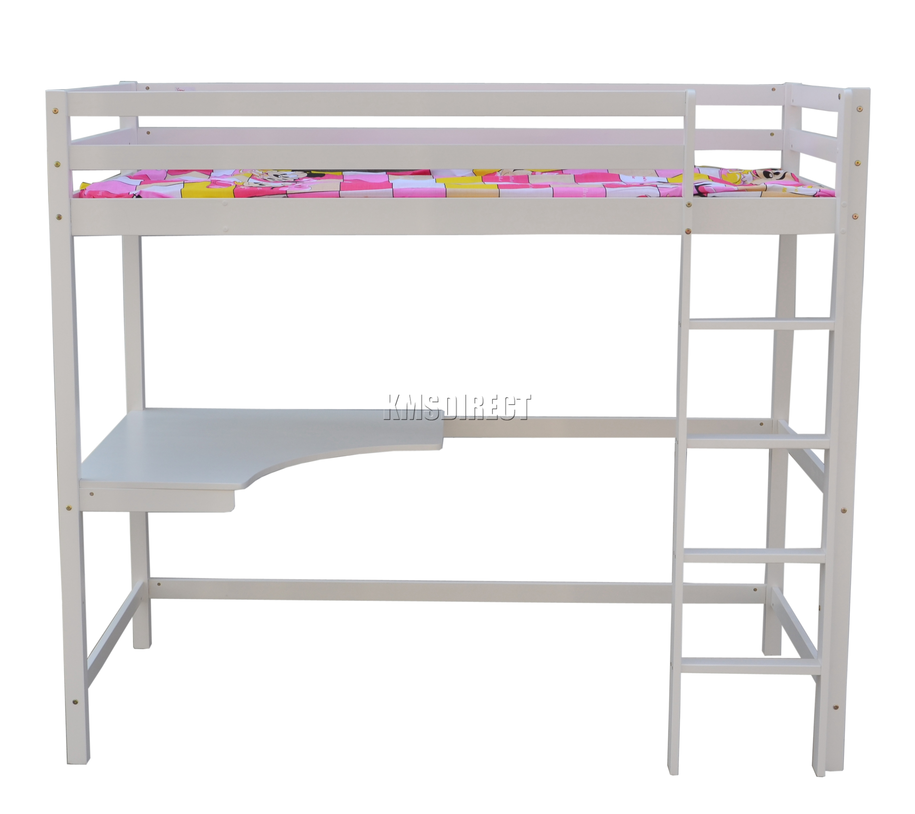 ■sleeper sofa Integrity High Sleeper Bed With Desk And Sofa