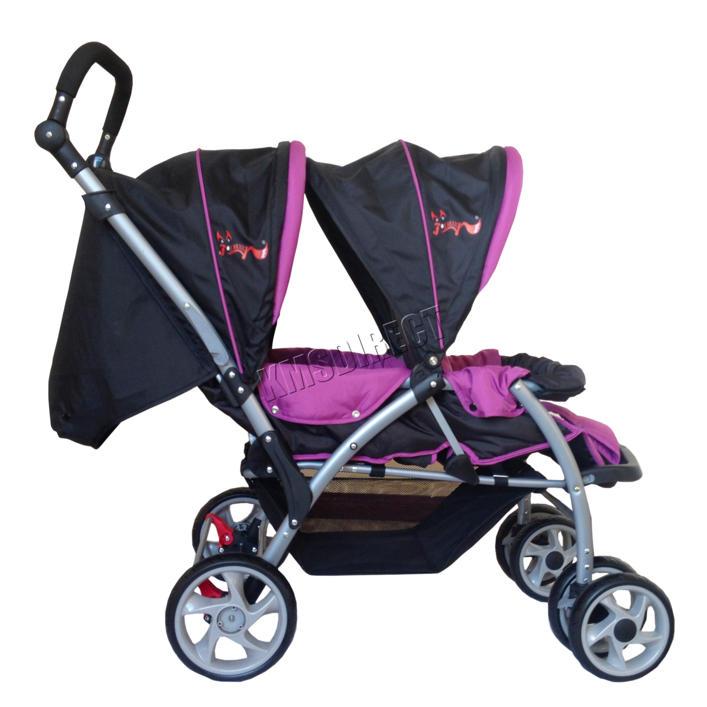 Stroller Cover Twin Foxhunter Baby Toddler Tandem Double Stroller Twin