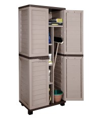 Starplast Outdoor Plastic Garden Utility Cabinet With ...