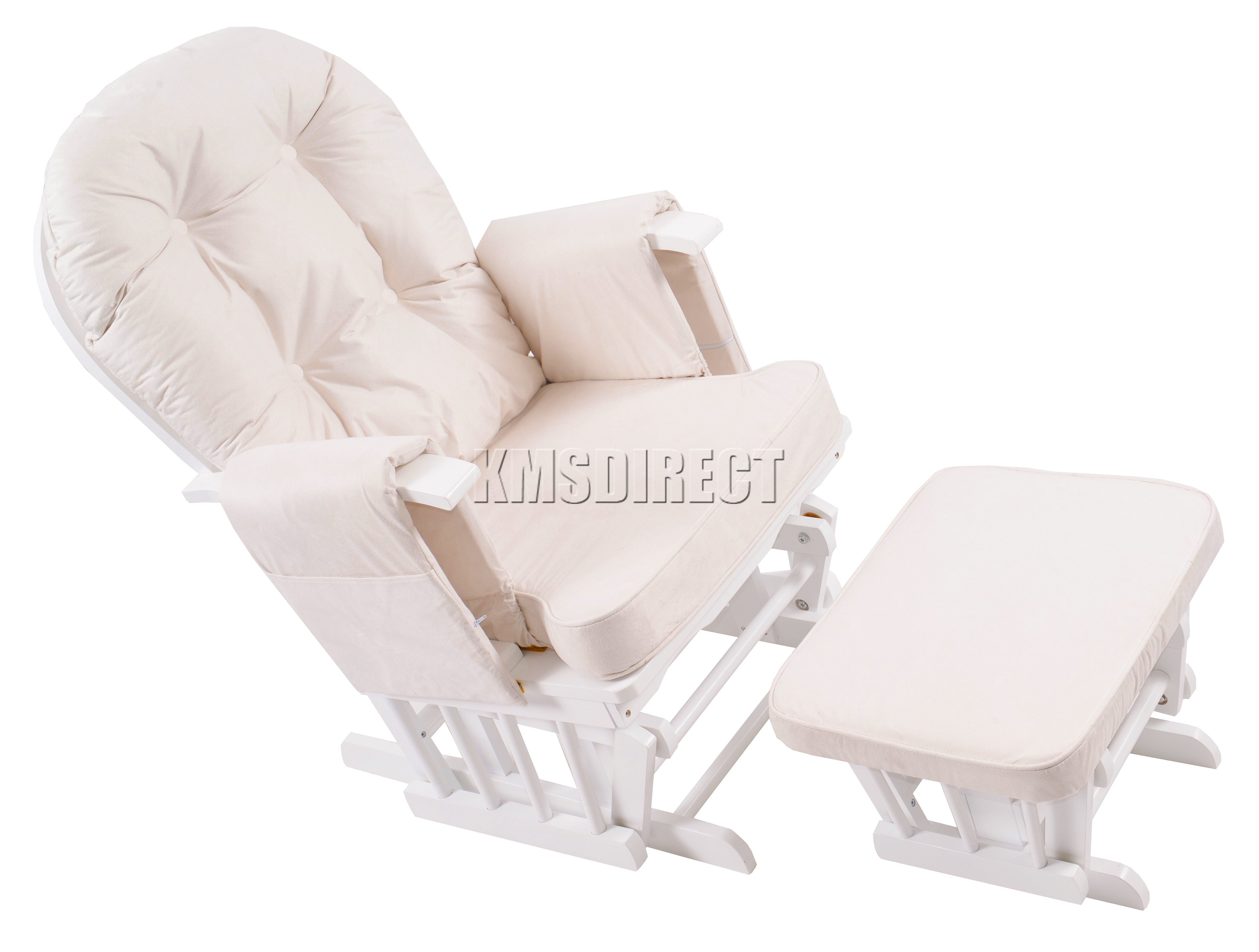 Blue Nursing Chair Foxhunter Nursing Glider Maternity Rocking Chair With