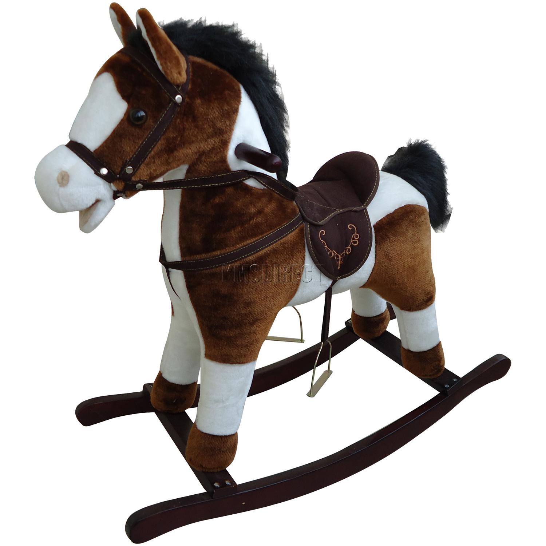 Fullsize Of Wooden Rocking Horse