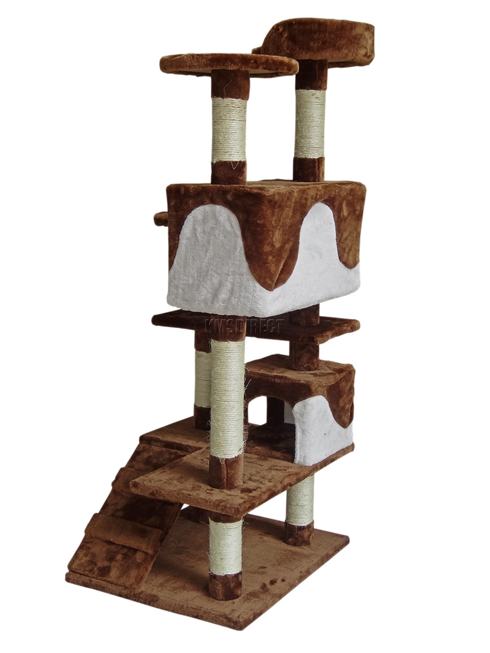 White Cat Scratching Post Foxhunter Kitten Cat Tree Scratching Post Sisal Toy