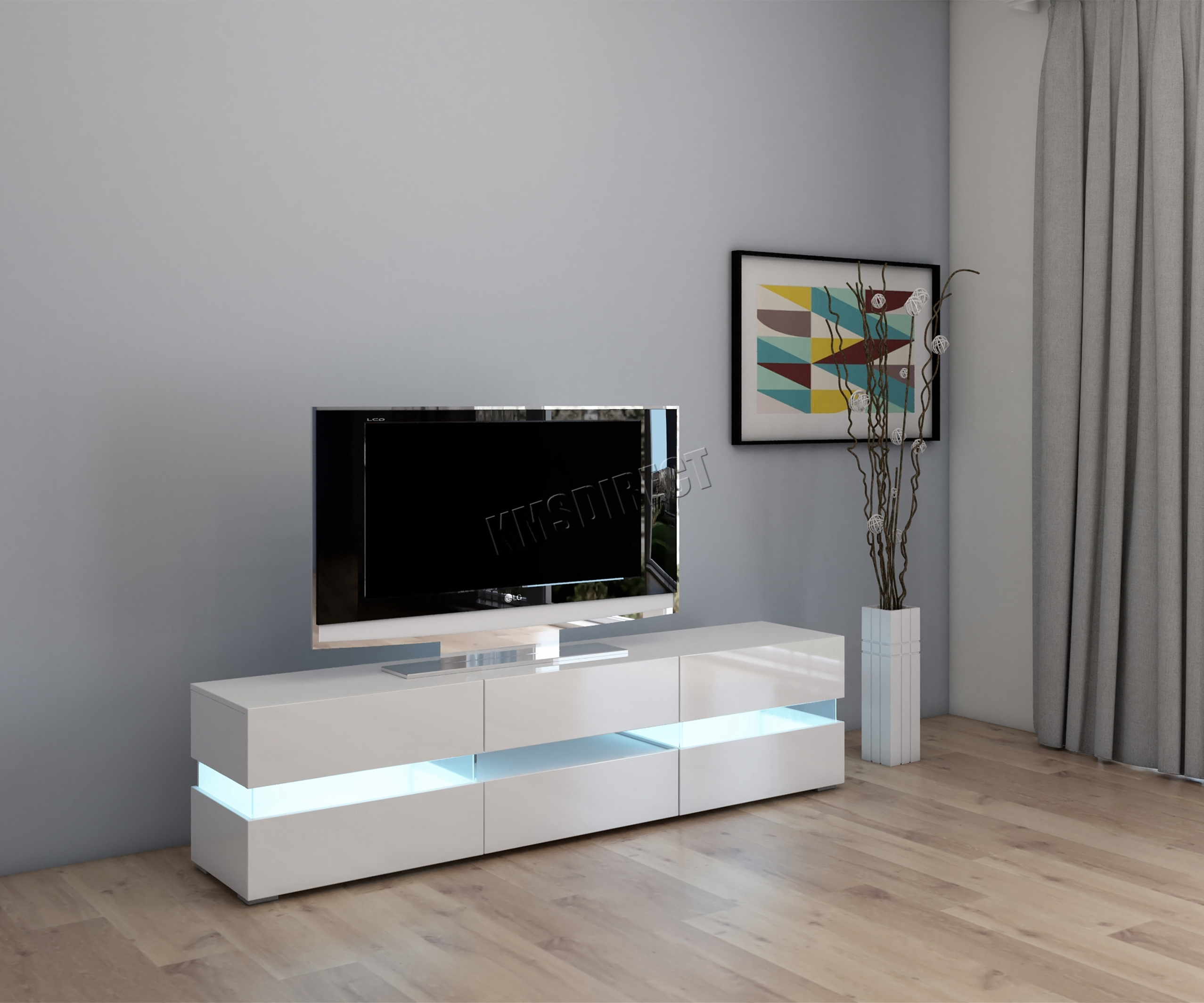Tv Sideboard Modern Foxhunter Modern High Gloss Matt Tv Cabinet Unit Stand ...