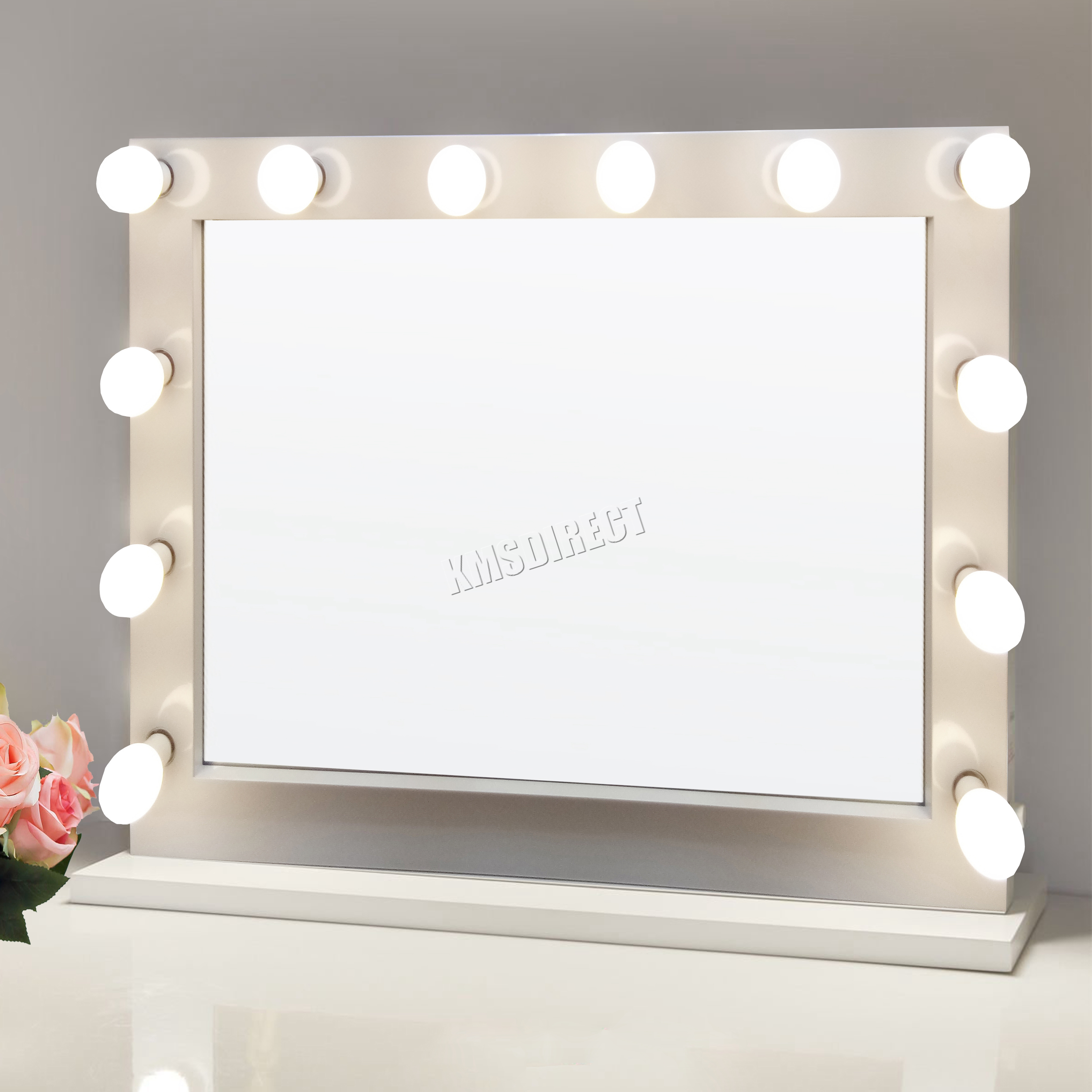 Led Beauty Mirror Foxhunter Makeup Mirror Led 12 Bulbs Light Cosmetic Beauty