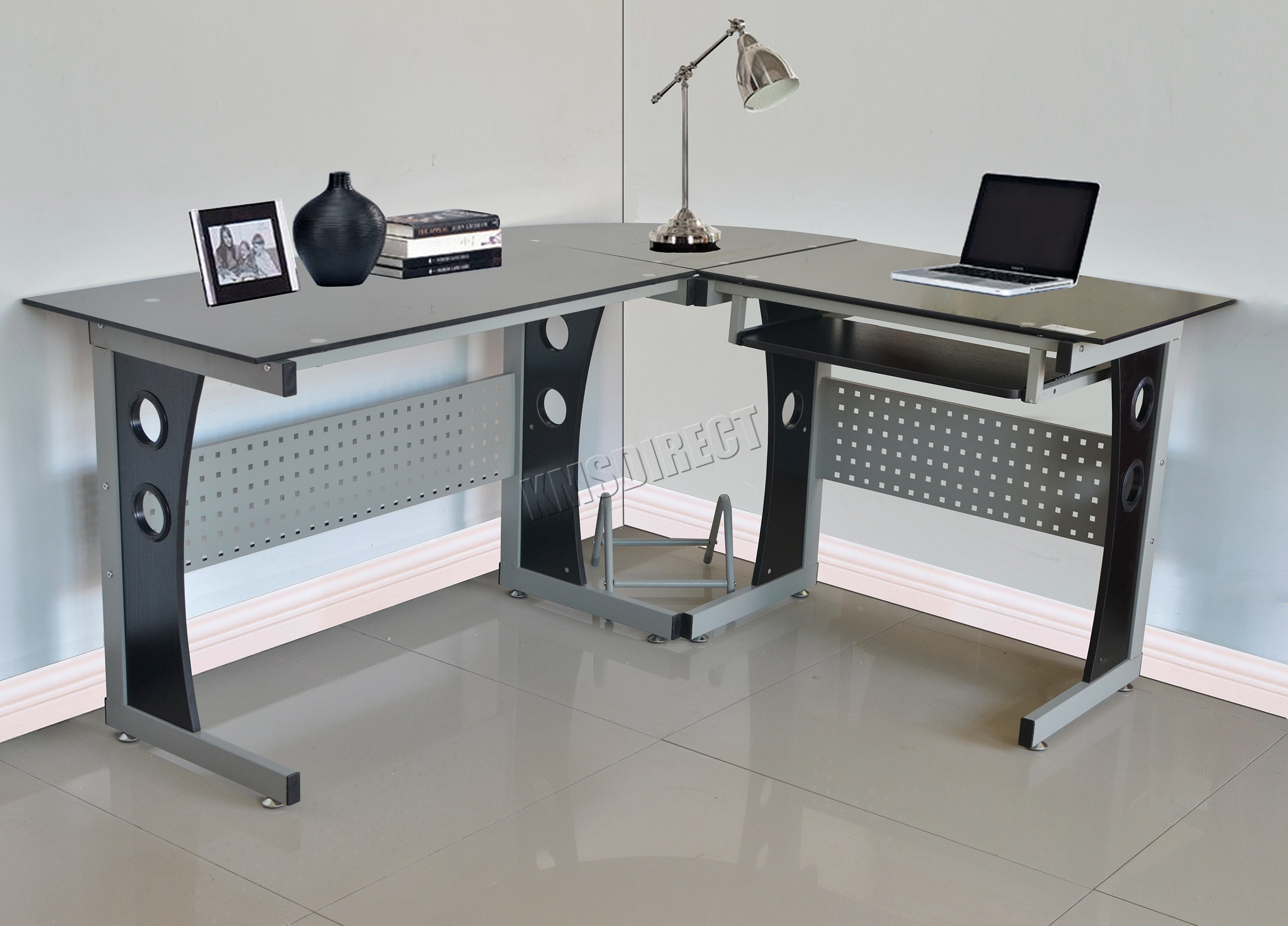 Table Pc Westwood L Shaped Corner Computer Desk Pc Table Home