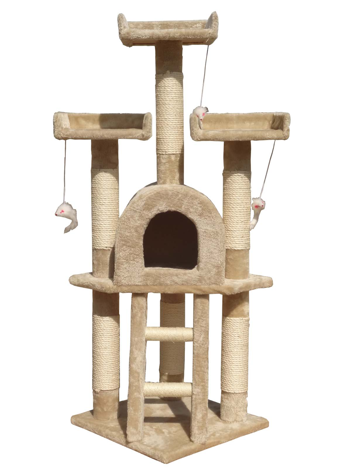 Indoor Cat Climbing Tree Cat Tree Scratching Post Scratch Activity Centre Bed Toys